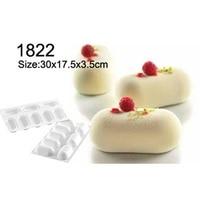 FOUR C Tray Chiffon Cake Mold Silicone Cake Mold Mousse Cake Molds Baking Mold