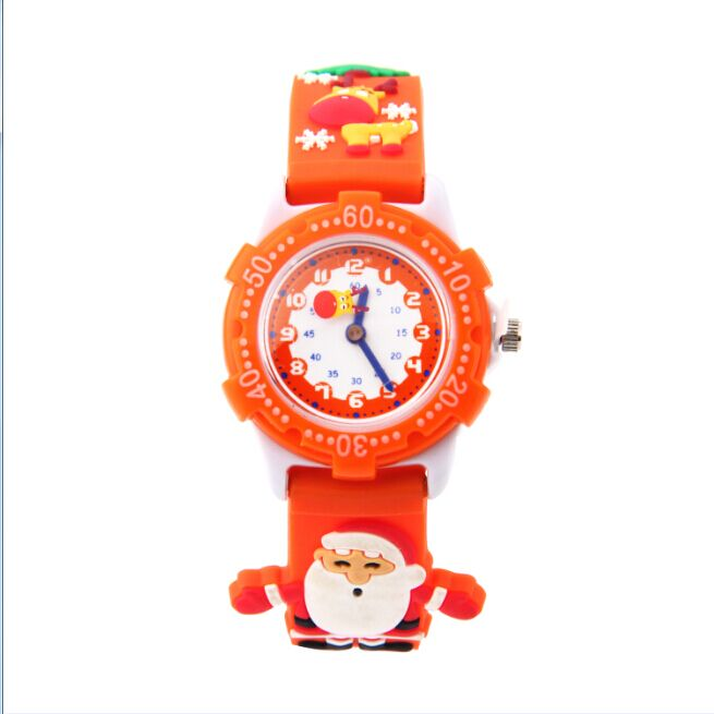 2016 Top Sale Christmas Tree Watch Dress Casual Santa Claus Quartz-watch Female Popular Gift Luxury Kids Wristwatch outdoor and indoor giant inflatable advertising shape santa claus christmas gift decoration for sale
