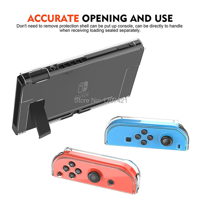 Nintendo Switch Crystal Protective Case