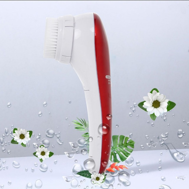 2-In-1 Electric Facial Cleansing Brush