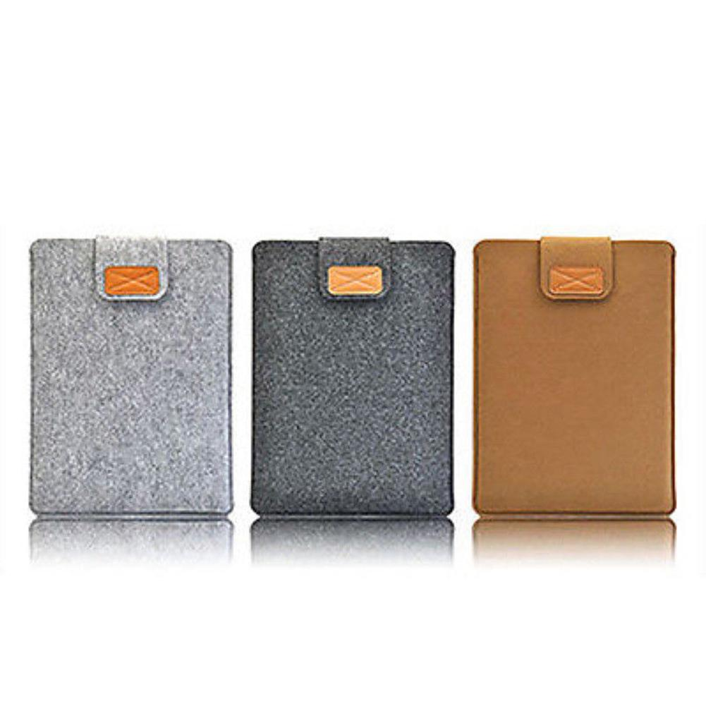 New Arrival Felt <font><b>Sleeve</b></font> Slim Protective <font><b>Laptop</b></font> Tablet Case Cover Bag for Apple MacBook Air Pro 11inch <font><b>13Inch</b></font> 15 Inch image