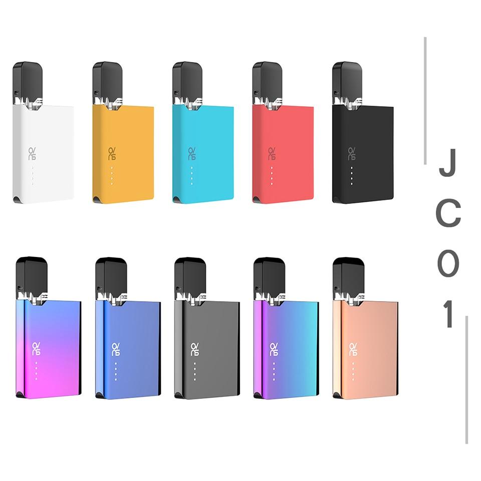 , Original Rofvape OVNS JC01 Pod Vaporizer Kit With 0.7ml Pod Cartridge 400mAh Battery Vape Kit Electronic Cigarette Kit