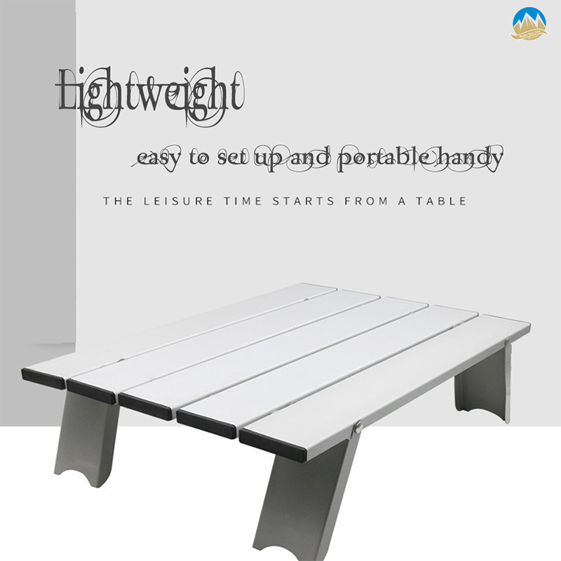 Image 2 - Outdoor travel aluminum portable folding camping table foldable folding picnic tables hiking lightweight roll up camp desk tableOutdoor Tools   -