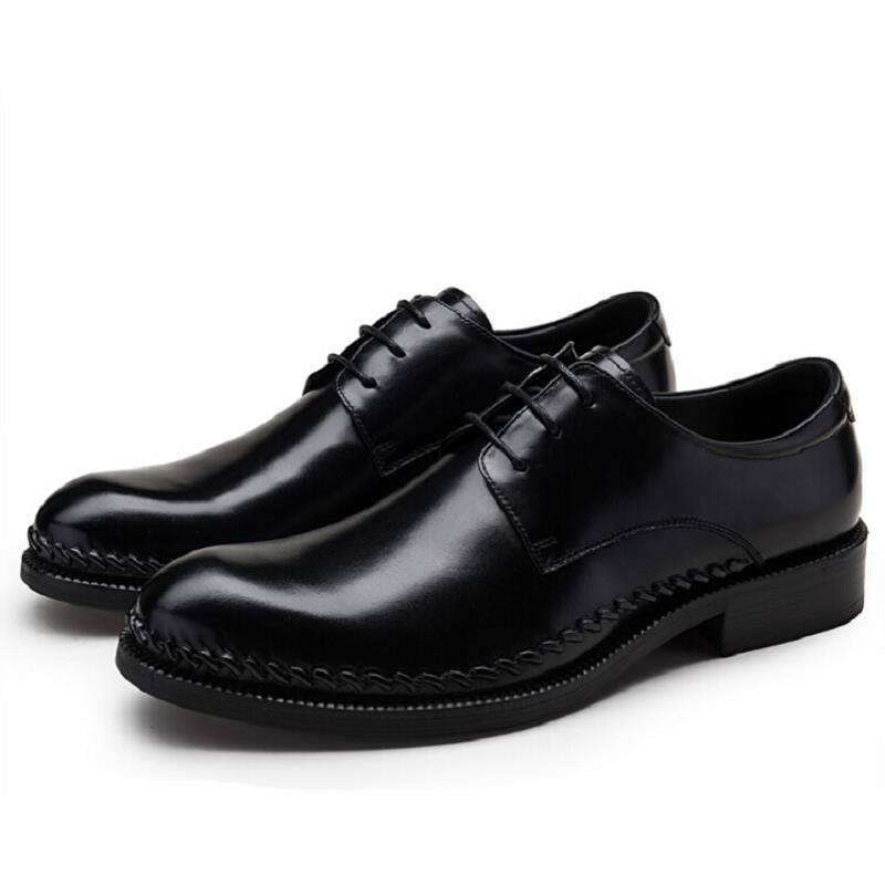 Novo De Casuais Alta Negócios Heinrich Sapatos Homens Ayakkabi 2018 Se Klasik Formal Para Vestem Black Erkek Qualidade Clássico 4qx0PS5