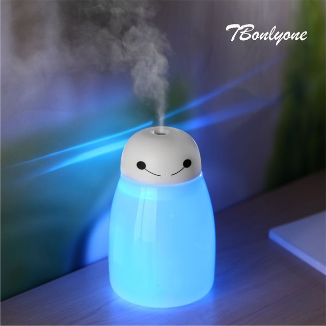 TBonlyone 400ML Large Capacity Humidifier Home Humidifier WaterSoluble Oil Aroma Diffuser USB Electric Ultrasonic Air Humidifier