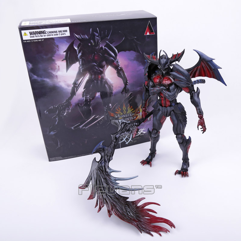 SQUARE ENIX PlayArts KAI Monster Hunter 4 ULTIMATE PVC Action Figure Collectible Model Toy 27cm