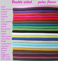 Double Sided Polar Fleece Fabric Anti Pilling Hoodies Blankets Coats Lining Fabric SOLD BY THE YARD