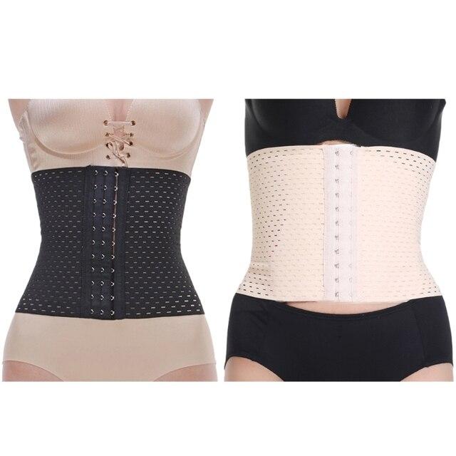 38dcb254fba Womens Waist Trainer Corset Weight Loss Fat Burner Tummy Control Body  Shaper New