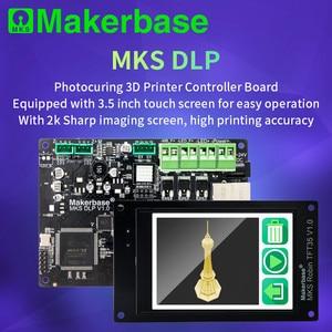3D-принтер Makerbase MKS DLP SLA UV, ЖК-полимерный принтер, Автономная плата управления фотоотверждением, дисплей TFT35, экран 2K, детали для 3D-принтера