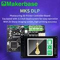 Placa de controlador de impresora 3D para fotocopiadora con pantalla TFT 2K Set de placa principal MKS DLP