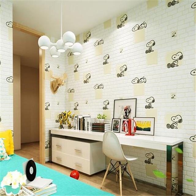 beibehang cartoon children s non woven wallpaper bedroom boy girl