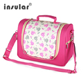 Hot Stylish dot printing diaper bags Shoulder Messenger multifunctional mummy big stroller bag maternity handbag nappy baby bags