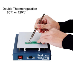Image 1 - 온도 조절기 예열 스테이션 휴대 전화 lcd 화면 열기 분리기 전화 회로 기판 desoldering station