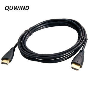 1M 1.5M 3M 5M 10M 24K Gold Plated Version 1.4 HDMI Cable for PC TV Black