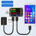 USB тестер T18 Цифровой dc измеритель мощности Вольтметр Амперметр Напряжение тока доктор 1 8