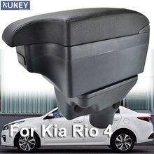 Чехол подлокотника для Kia Rio 4 YB черный Центральный магазин коробка Rio4