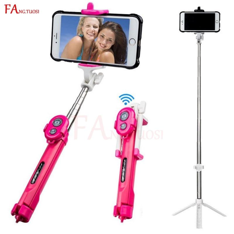 FANGTUOSI bluetooth selfie stick mini stativ Erweiterbar Einbeinstativ mit fernbedienung Pau Palo selfie stick für mobiltelefone