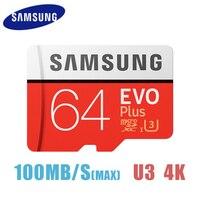 Original SAMSUNG Flash Micro SD Card 32GB Class 10 Memory Card EVO EVO Plus 256GB 128GB