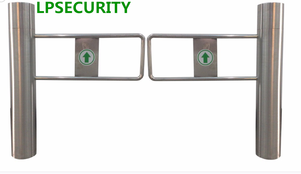 LPSECURITY dual Swing Gate Turnstile Barrier for Access Control turnstile turnstile access control turnstile barrier gate swing turnstile barrier for access control