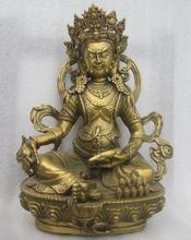 Chinas Old bronze statue of Tibetan Buddhism, Buddha 10.23inch