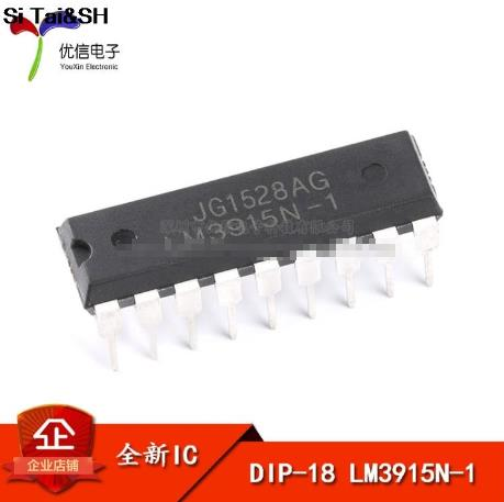 1PCS LM3915N-1 DIP18 LM3915-1 DIP LM3915N LM3915 New And Original IC Free Shipping
