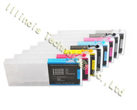 Pro 4880 Refill Ink Cartridges 8pcs / set  with 4 Funnels