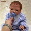 New Baby Reborn Dolls Silicone Baby Doll Toys Little Girl Boy Sleeping Dolls Kid's Playmates Christmas Birthday Gifts Brinquedos