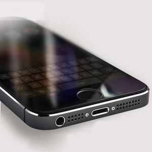 Image 4 - 5 teile/los Für Glas auf iphone 5s Gehärtetem Glas für iphone 5 5s 5c se schutz glas auf iphone 5s galss screen protector film