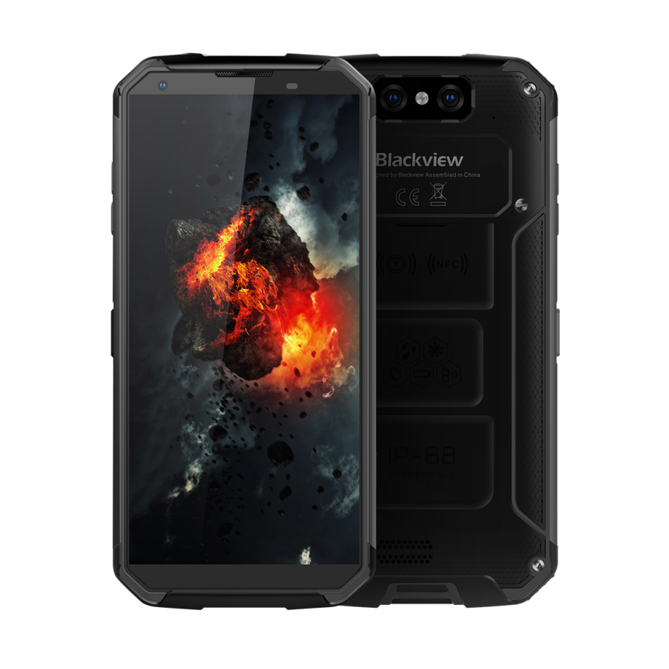 original BV9500 IP68 Waterproof Rugged Smartphone 4G Mobile Phone Android 8.1 Octa Core 5.7