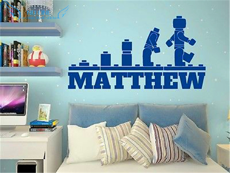 Aliexpress.com : Buy Free Shipping Customer Made LEGO EVOLUTION Decal WALL  STICKER ,Lego Wall Art Vinyl Stencil Kids Room Cartoon Decor From Reliable  Wall ... Part 57