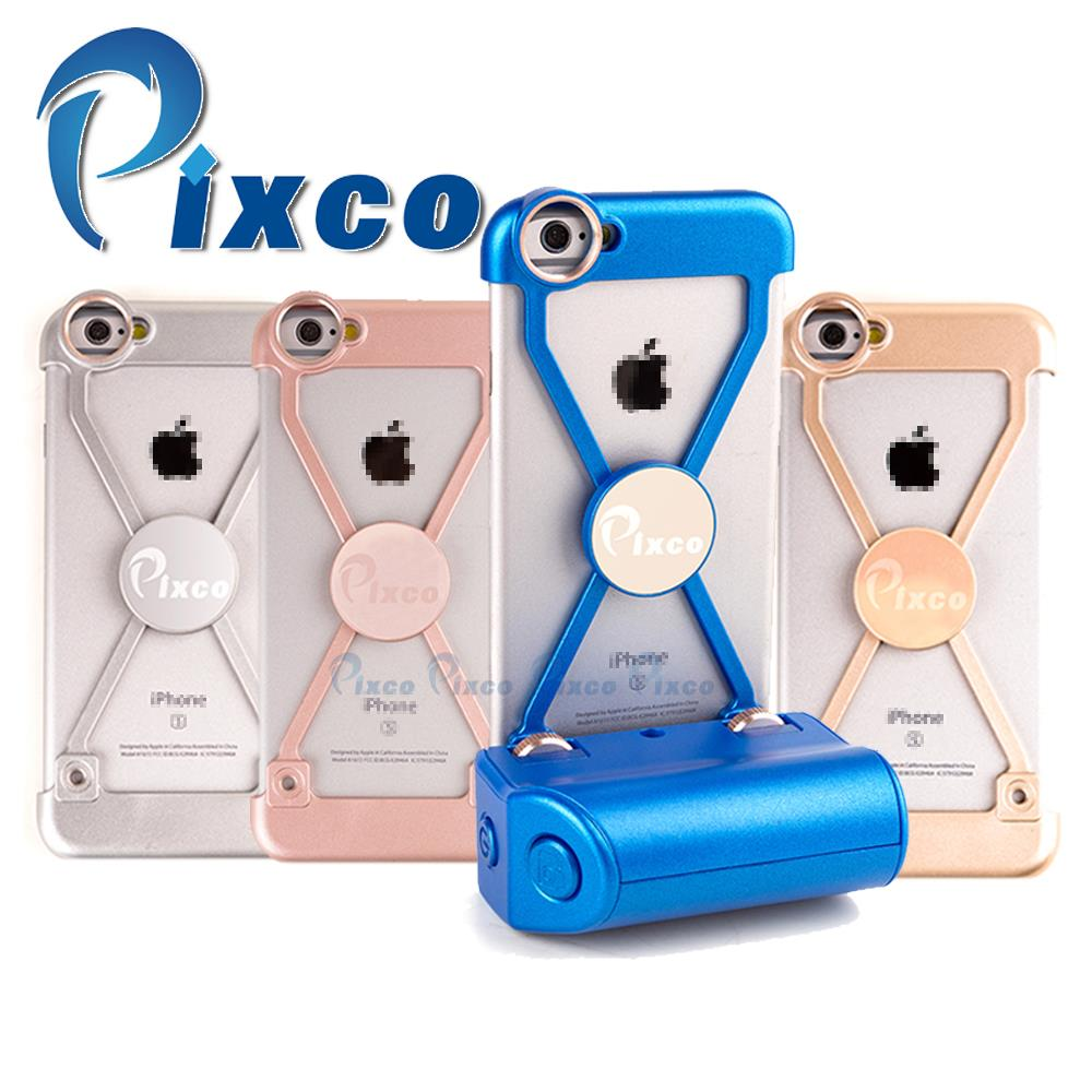 Pixco Selfie Sticks iP.hone case 4.0 bluetooth adapter bluetooth camera remote Shockproof phone case Suit For I6s-P