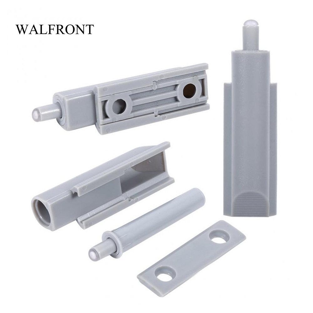 Push To Open Deur Us 5 56 27 Off Walfront 10pcs Set Open Door Damper System Cabinet Drawer Hinge Push Tools Damper Buffer Push Catch Plastic Tip Household Tools In