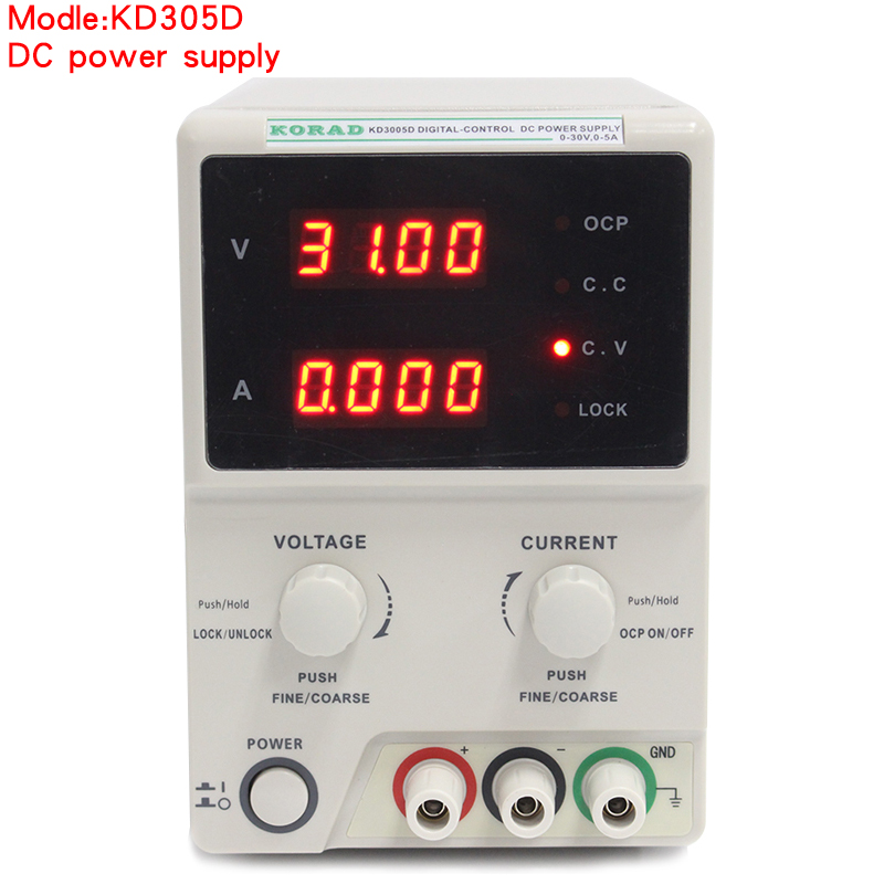 KD3005D DC Encoder Adjustable CNC Power Supply 30V5A Constant Voltage Constant Current Source mA Display 10mV  1 mA Accuracy (1)