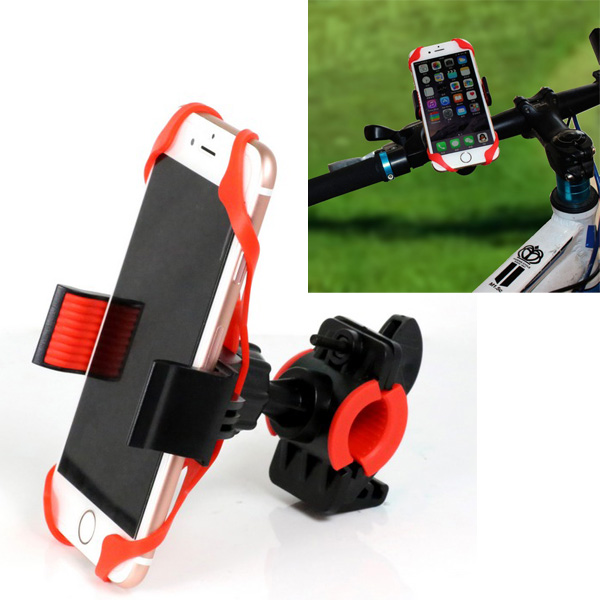Bike manillar de la bicicleta mount holder para iphone 7 lg g5 g4 samsung note 6