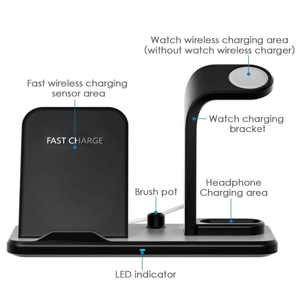 wireless charger sensing area