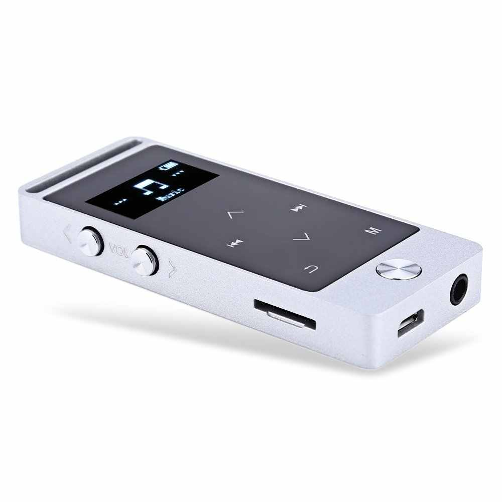 ミニ BENJIE S5 金属タッチスクリーン MP3 プレーヤー 8 ギガバイトスポーツ高音質エントリーレベルロスレス MP3 音楽プレーヤー FM ラジオ TF カード