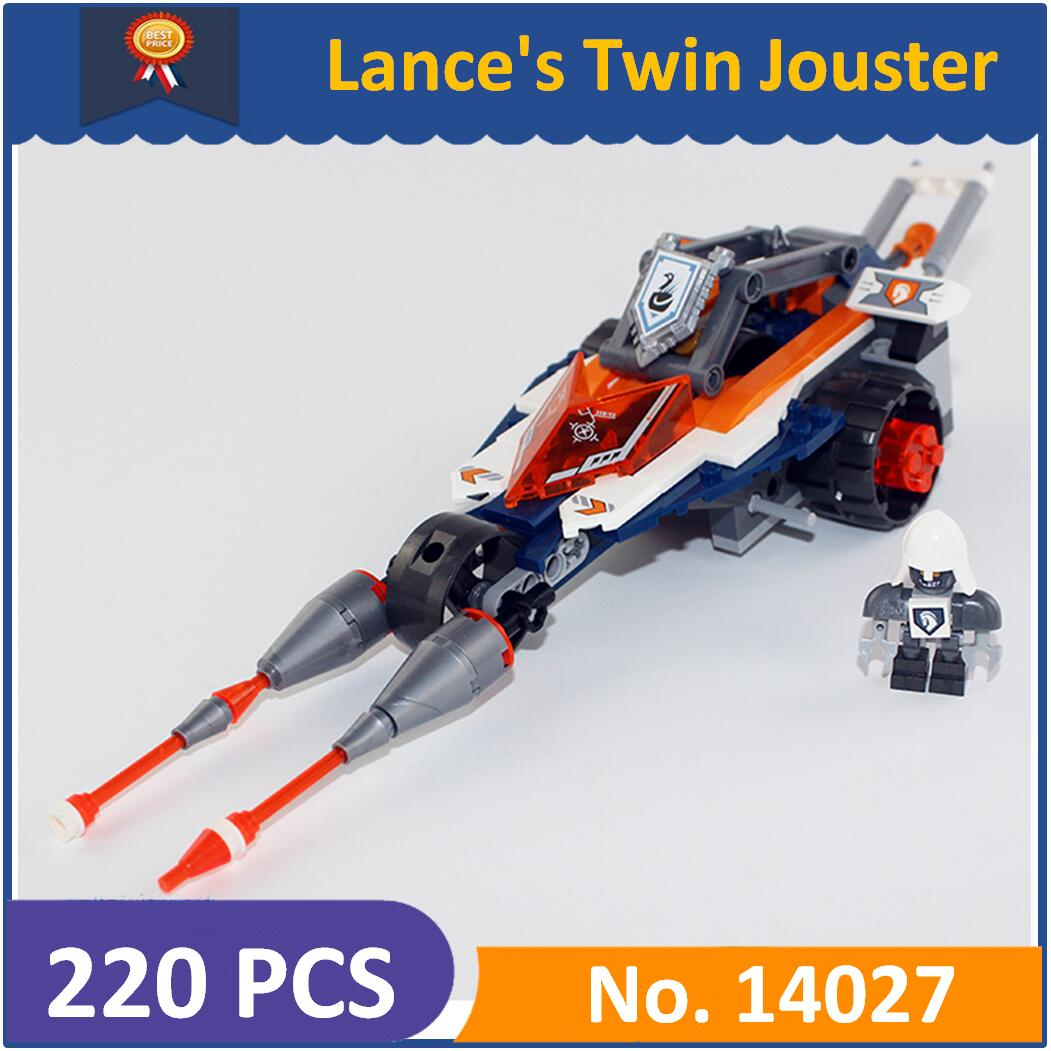 Legoes Lance Construction Compatible 14027 Jouster 70348 Modèle Chiffres Enfants Chevaliers Pour Blocs Double Lepin Jouets De Nexoe vNO0ym8nw