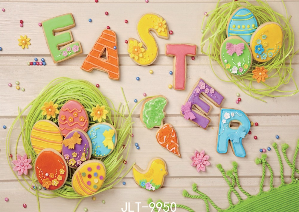 SJOLOON  7x5ft easter children photography backdrops printed eggs and wood  background Photo background for photo studio vinyl стул nova tour облегченный складной lc 1 черный