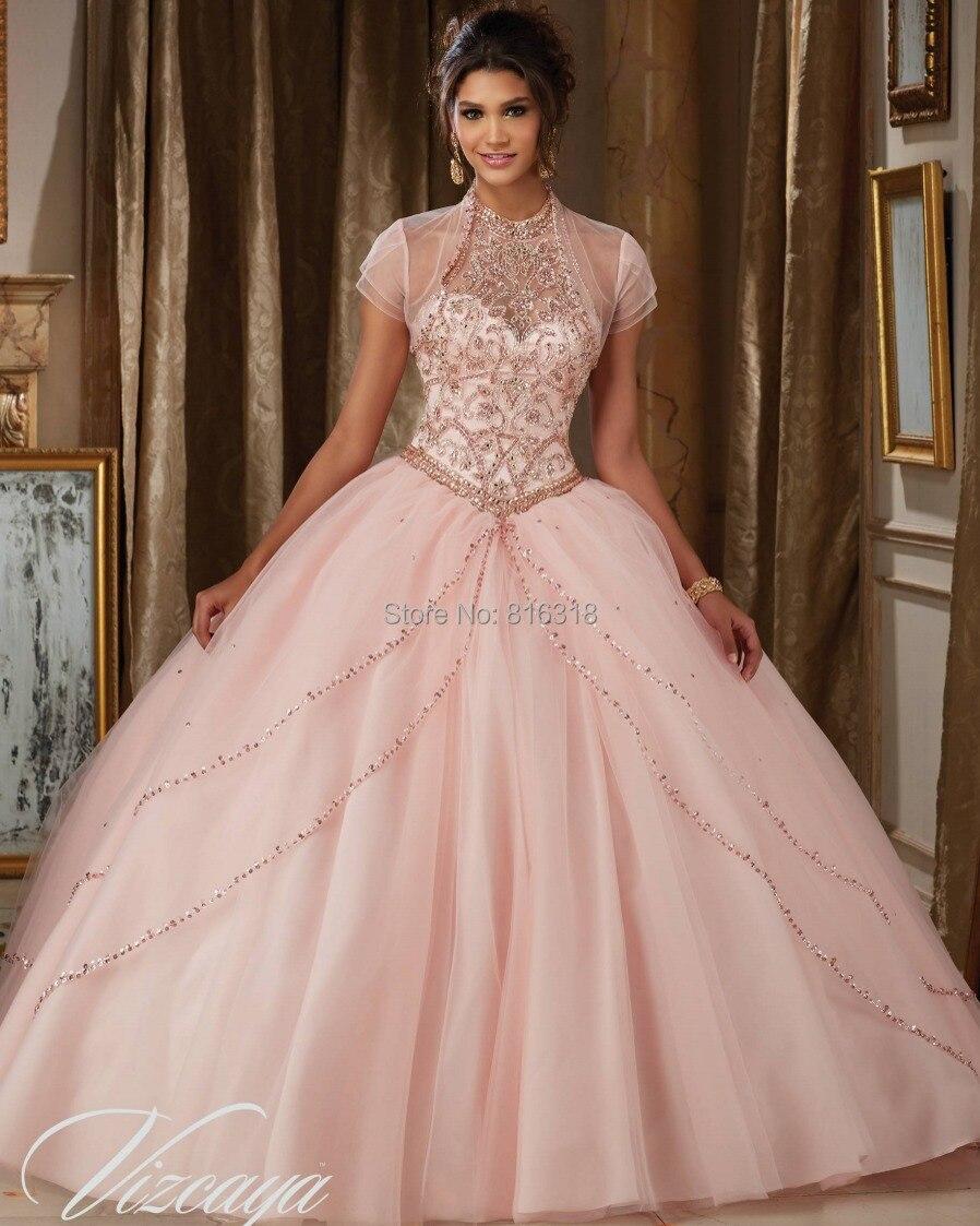 2016 Barato Vestidos de Quinceañera Debutante Dulce 16 Princesa ...