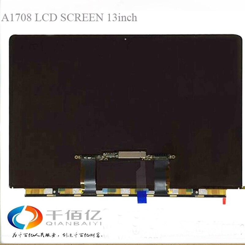 Original marca nova tela lcd para Macbook Pro Retina 13 polegada A1708 A1708 do painel de lcd de substituição de 2016 Ano