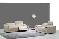Koe real/lederen bankstel woonkamer sofa sectionele/hoekbank set meubelen couch/1 + 2 + 3 zits fauteuils moderne