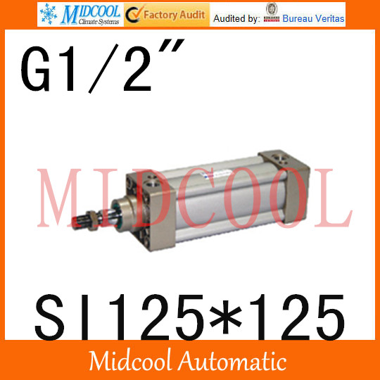 SI series ISO6431Standard cylinder SI125*125 port 1/2 bore 125mm Adjustable cylinder si series iso6431standard cylinder si160 200 port 3 4 bore 160mm adjustable cylinder