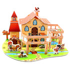 Kids Toys 3D Puzzle House Building Wooden Puzzles Baby Toys Puzzle Gifts Child Toy