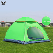 MADHERO Camping Tent Quick Automatic Opening 3-4 Person Tent Waterproof Outdoor Hiking Tents Pack With Carrying Bag For Outdoor