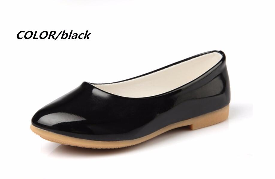 girl leather shoe-37