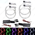 Car CCFL Halo Rings Angel Eye Light Headlight Kits for BMW E46(NON projector) Auto Light 6 Colors #CA4174