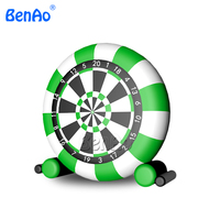 Inflatable soccer training dummy football target inflatable dart game,inflatable soccer darts, inflatable football dart board