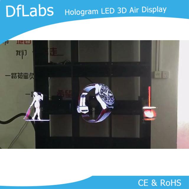 US $188 0 6% OFF DfLabs 3D Hologram Advertising Display LED Fan Holographic  Imaging-in Projection Screens from Consumer Electronics on Aliexpress com