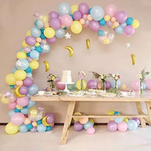 50pcs Macaron Latex balloons wedding birthday party decorations kids adult gender reveal supplies romantic