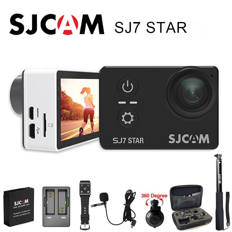 100 Original SJCAM SJ7 STAR Sports Action Camera Wifi 4k 2 Touch Screen Ambarella A12S75 30M